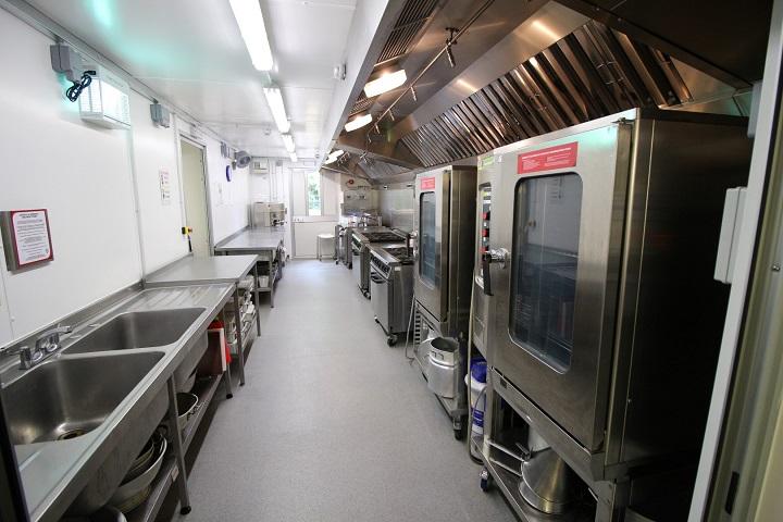 Internal Modular Kitchen